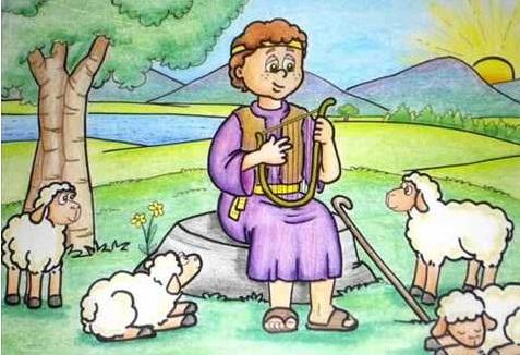 Davi e sua Harpa 006