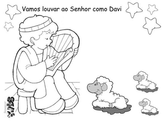 Davi e sua Harpa 011