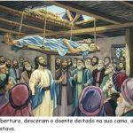 Aula Bíblica Pré-primário #11 (Unid. 2) – Jesus cura um Paralítico