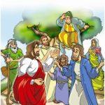 Aula Bíblica Pré-primário #18 (Unid. 2) – Jesus fala com Zaqueu