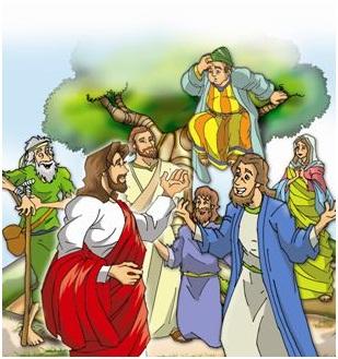 Aula Pre-Primario - Jesus fala com Zaqueu 003
