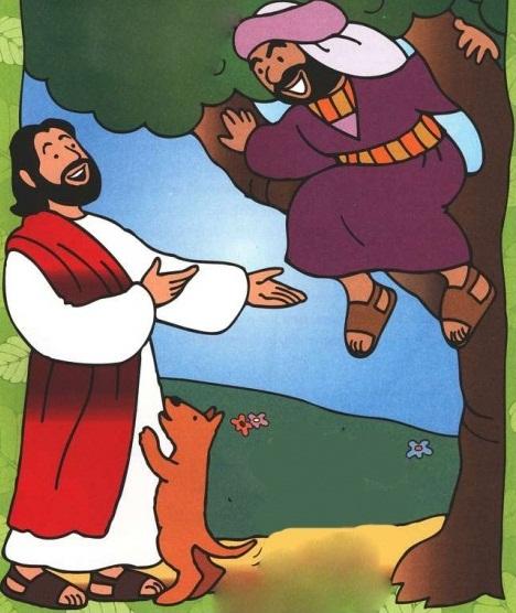 Aula Pre-Primario - Jesus fala com Zaqueu 006