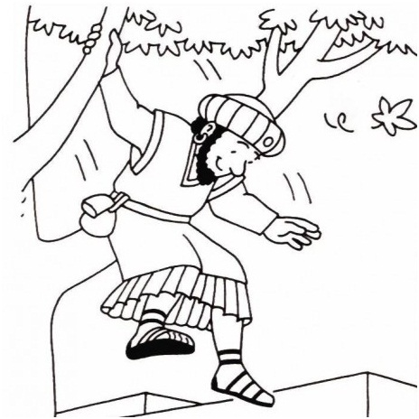 Aula Pre-Primario - Jesus fala com Zaqueu 012