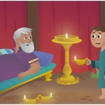 Aula Bíblica Maternal #25 – Samuel ouve a voz de Deus