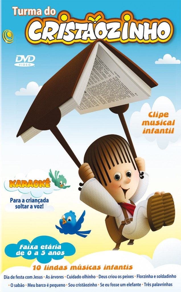 DVD Turma do Cristaozinho