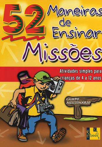 Livro 52 Maneiras de Ensinar Missoes