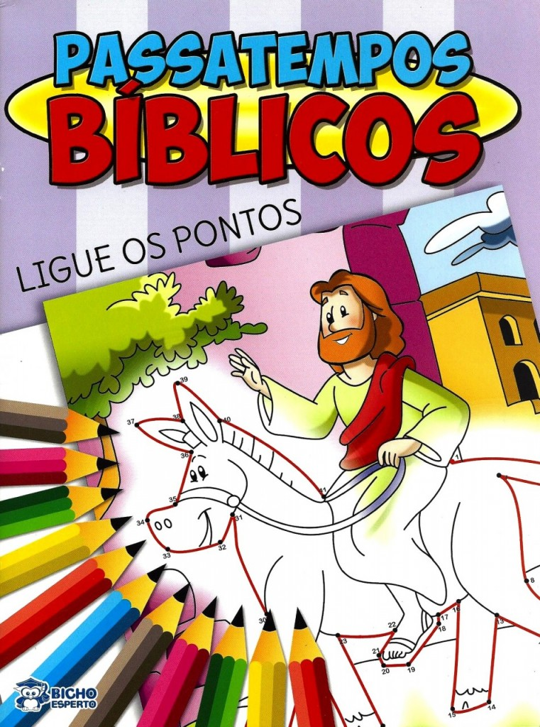 Livro Passatempos Biblicos 001