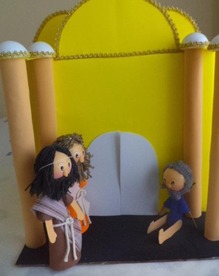 Aula para Maternal 002 - Um homem manco