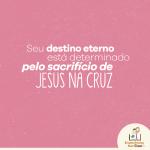 O sacrifício de Jesus na cruz