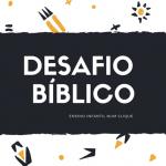 Desafio Bíblico #01